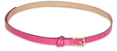 BCBGMAXAZRIA Women's Skinny Leather Tie Belt