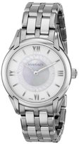 "Versace Women's VFF030013 ""Dafne"" Stainless Steel Dress Watch"