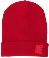 Off-White Wool Patch Beanie