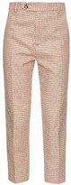 Rachel Comey Murray Hound's-tooth wool-blend trousers
