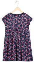 Jacadi Girls' Pleated Short Sleeve Dress