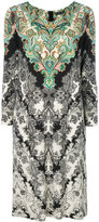 Etro long sleeved printed dress