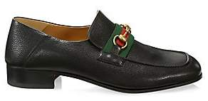 Gucci Men's Bonny Leather Moccasin Loafers