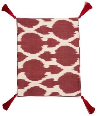 Les Ottomans - Ikat Cotton Table Runner - Purple Multi