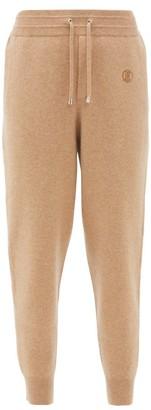 Burberry Yangtze Cashmere-blend Track Pants - Camel