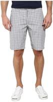 DKNY Yarn Dye Cotton Check Trouser Shorts