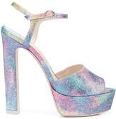 Sophia Webster Mermaid glitter platform sandals