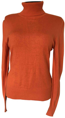Non Signã© / Unsigned Orange Cashmere Knitwear