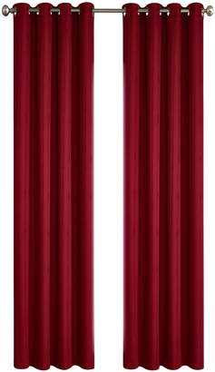 "North Home Princeton Drape Grommet Curtain Panels/96"""