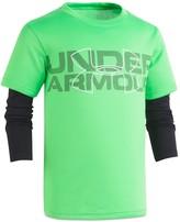 Under Armour Boys' Wordmark Layered Performance Tee