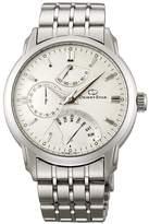 Orient DE00002W Men's Retrograde Automatic Dial Stainless Steel Power Reserve Watch