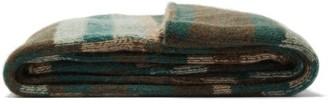The Elder Statesman Super Soft Striped Cashmere Blanket - Beige Multi