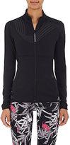 adidas x Stella McCartney Women's Logo-Graphic Mid-Layer Jacket-BLACK