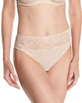 Wacoal Distinguished Elegance High-Cut Lace Briefs