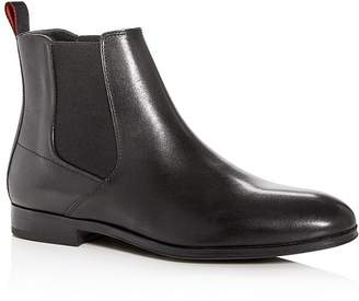 HUGO BOSS Men's Bohemian Leather Chelsea Boots