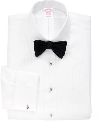Brooks Brothers Madison Fit Ten-Pleat Tennis Collar Tuxedo Shirt