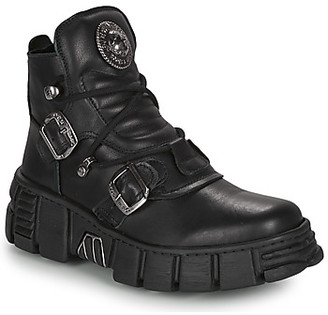New Rock ARIA women's Mid Boots in Black