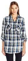 Tribal Women's Vintage Plaid Shirt
