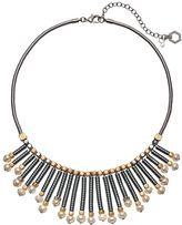 Simply Vera Vera Wang Two Tone Staggered Stick Necklace