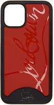 Christian Louboutin Black and Red Loubiphone Sneakers iPhone 11 Case
