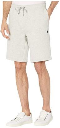 Polo Ralph Lauren Double Knit Tech Shorts (Grey Heather) Men's Clothing