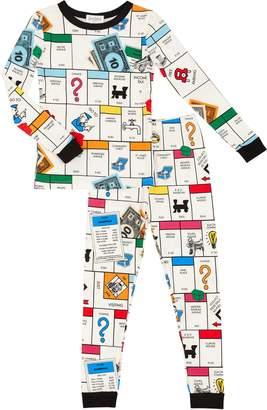 Bedhead Pajamas Monopoly Fitted Two-Piece Pajamas