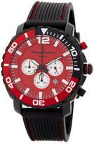 Tommy Bahama Men's Atlantis Chronograph Silicon Strap Sport Quartz Watch, 41mm