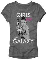 Star Wars Girls' T-Shirt -Charcoal Heather