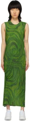 Collina Strada Green Lawn Dress