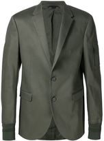 Neil Barrett casual stylised blazer - men - Cotton/Kapok/Spandex/Elastane - 54