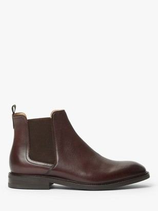 John Lewis & Partners Clarence Leather Chelsea Boots