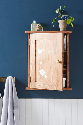 Anthropologie Olivia Bath Cabinet By in Beige Size ALL