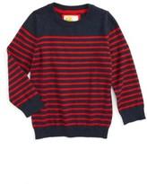 Boy's Mini Boden Stripe Sweater