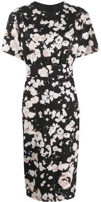 Boutique Moschino Floral-Print Pencil Dress