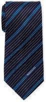 Missoni Blue Stripe Silk Tie