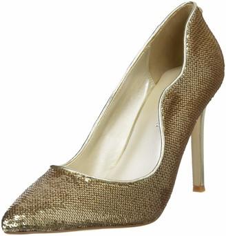 Karen Millen Fashions Limited Women's Allover Sequin Court Heels Closed Toe
