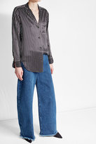 Marques Almeida Marques\' Almeida High-Waisted Oversized Jeans