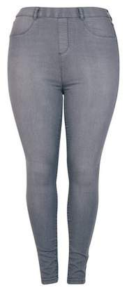 Dorothy Perkins Womens **Dp Curve Grey 'Eden' Lightweight Jeggings, Grey