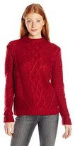 U.S. Polo Assn. Juniors Funnel Neck Cable Knit Sweater