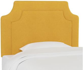 One Kings Lane Morgan Kids' Headboard - Mustard Linen - Yellow