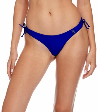 Body Glove Women's Isla Solid Cheeky Coverage Bikini Bottom Swimsuit