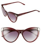 Ted Baker Women's 57Mm Cat Eye Sunglasses - Olive Tortoise