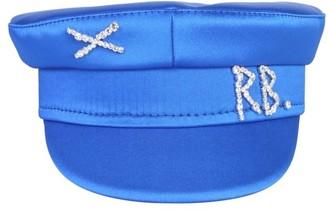 Ruslan Baginskiy Logo Embellished Baker Boy Hat