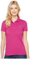 Lacoste Short Sleeve Classic Fit Pique Polo Shirt Women's Short Sleeve Knit
