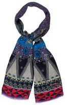 Christian Lacroix Printed Linen Scarf