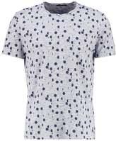 Sisley Print Tshirt Blue