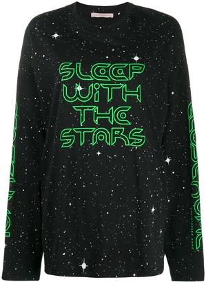Christopher Kane Sleep with the Stars longsleeve T-shirt