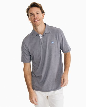 Southern Tide Channel Marker Striped Polo Shirt