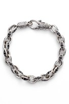 Konstantino Men's Semiprecious Stone Link Bracelet