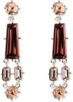 Vince Camuto Mixed Stone Clip-On Earrings